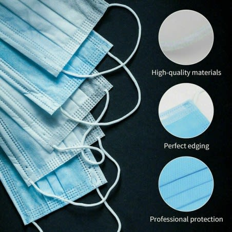 1 x Filtration Disposable 3 Layer Surgical Mask