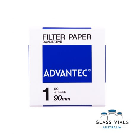 100 Filter Paper 90mm Fast Flow Rate